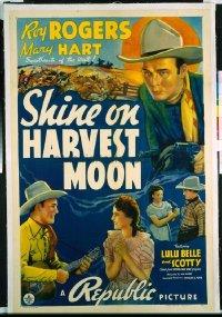 325 SHINE ON HARVEST MOON ('38) linen 1sheet