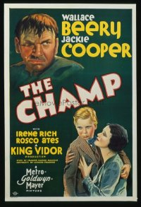 197 CHAMP ('31) paperbacked 1sheet