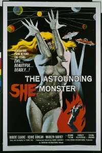 113 ASTOUNDING SHE MONSTER 1sheet