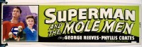 221 SUPERMAN & THE MOLE MEN paper banner