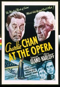 244 CHARLIE CHAN AT THE OPERA linen 1sheet