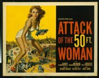 337 ATTACK OF THE 50 FT WOMAN ('58) 1/2sh