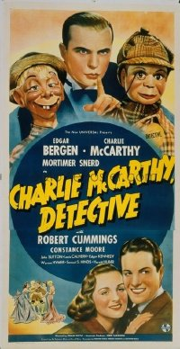 236 CHARLIE MCCARTHY DETECTIVE linen 3sh