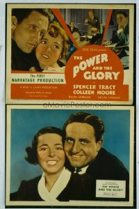 186 POWER & THE GLORY ('33) LC
