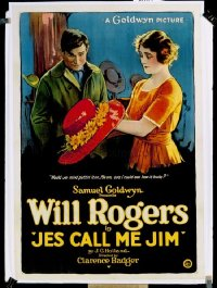 351 JES' CALL ME JIM linen 1sheet