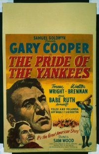 036 PRIDE OF THE YANKEES paperbacked WC