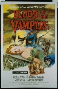 112 BLOOD OF THE VAMPIRE 1sheet
