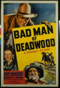 021 BAD MAN OF DEADWOOD 1sheet