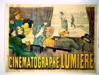 271 CINEMATOGRAPHE LUMIERE linen French 1p 1895