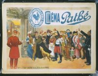 264 CINEMA PATHE linen French 1p 1898