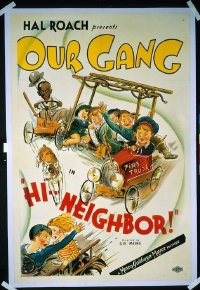 228 HI NEIGHBOR ('34) linen 1sheet