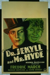 181 DR. JEKYLL & MR. HYDE ('31) WC
