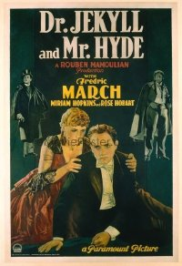 011 DR. JEKYLL & MR. HYDE ('31) linen 1sheet