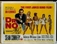 #339 DR NO British quad62 Sean Connery, Bond