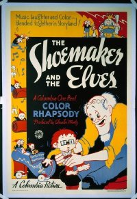 156 SHOEMAKER & THE ELVES ('35) linen 1sheet