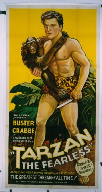 063 TARZAN THE FEARLESS linen 3sh