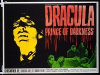 007 DRACULA PRINCE OF DARKNESS British quad