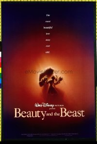 407 BEAUTY & THE BEAST ('91) 1sheet