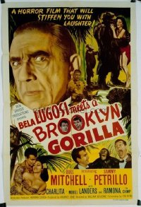 215 BELA LUGOSI MEETS A BROOKLYN GORILLA 1sheet