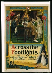 457 ACROSS THE FOOTLIGHTS linen 1sheet