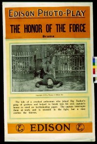 109 HONOR OF THE FORCE linen 1sheet