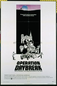 1576 OPERATION DAYBREAK one-sheet movie poster '75 Timothy Bottoms, Shaw