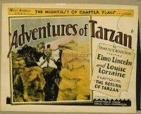v194 ADVENTURES OF TARZAN Chap 1 TC R28 Elmo Lincoln