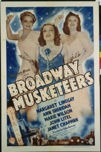 129 BROADWAY MUSKETEERS 1sheet