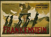 106 FRANKENSTEIN ('31) artwork