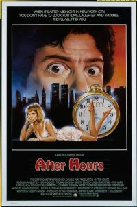 4603 AFTER HOURS int'l one-sheet movie poster '85 Scorsese, Arquette