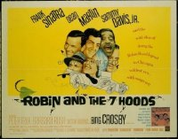 3417 ROBIN & THE 7 HOODS half-sheet movie poster '64 Sinatra, the Rat Pack!