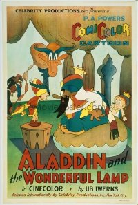 050 ALADDIN & THE WONDERFUL LAMP linen 1sheet