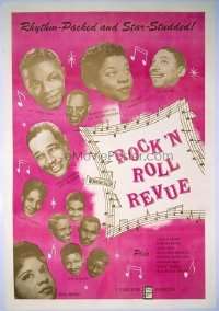 361 ROCK 'N' ROLL REVUE linen 1sheet