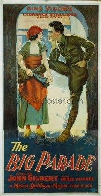 #150 BIG PARADE style B 3sheet25 John Gilbert