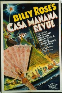 147 BILLY ROSE'S CASA MANANA REVUE 1sheet