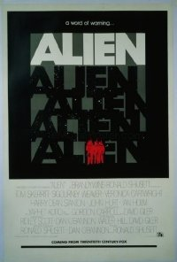 162 ALIEN ('79) teaser 1sheet
