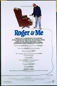 4683 ROGER & ME one-sheet movie poster '89 first Michael Moore!