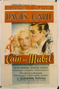 429 CAIN & MABEL 1sheet