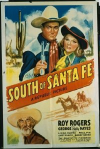 330 SOUTH OF SANTA FE ('42) 1sheet