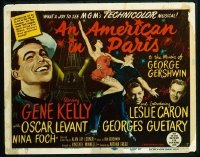 v414 AMERICAN IN PARIS  TC '51 Gene Kelly musical!