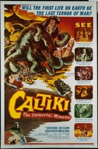 137 CALTIKI THE IMMORTAL MONSTER 1sheet