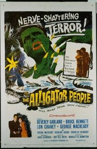 125 ALLIGATOR PEOPLE 1sheet