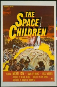 117 SPACE CHILDREN signed by Jack Arnold 1sheet