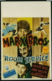 #207 ROOM SERVICE WC38 Marx Brothers & Lucy!
