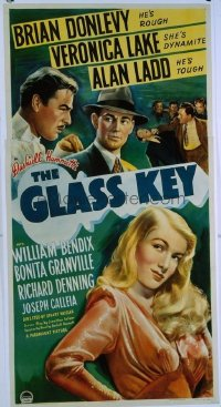 206 GLASS KEY ('42) linen 3sh