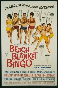 323 BEACH BLANKET BINGO 1sheet