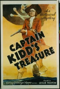 148 CAPTAIN KIDD'S TREASURE 1sheet