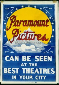 095 PARAMOUNT PICTURES ('15) linen, special 1sheet