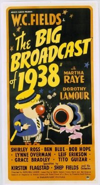 152 BIG BROADCAST OF 1938 linen 3sh