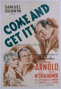 128 COME & GET IT ('36) 1sheet